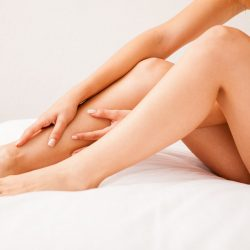 33061936 - close up of some beautiful and smooth legs from a young woman who just removed all hair
